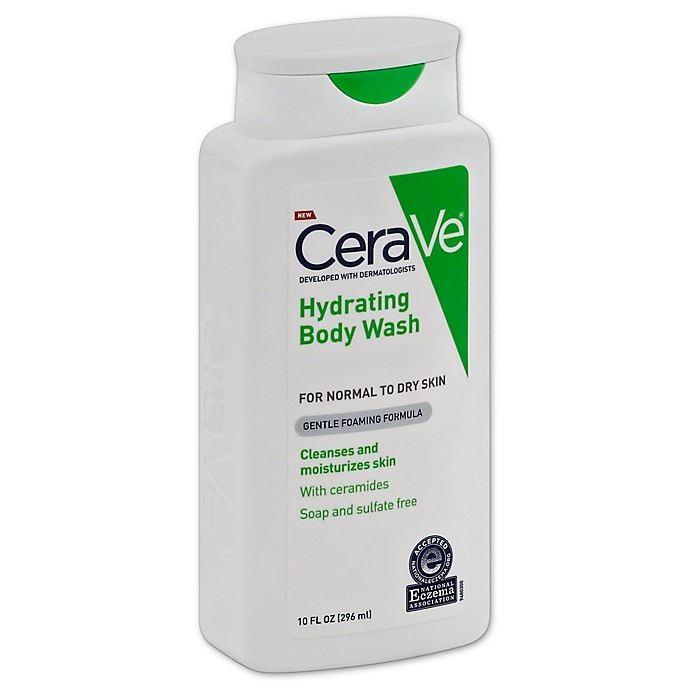 Alternate image 1 for CeraVe® 10 fl. oz. Hydrating Body Wash for Normal to Dry Skin
