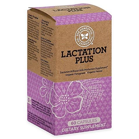Honest 60-Count Lactation Plus Supplement