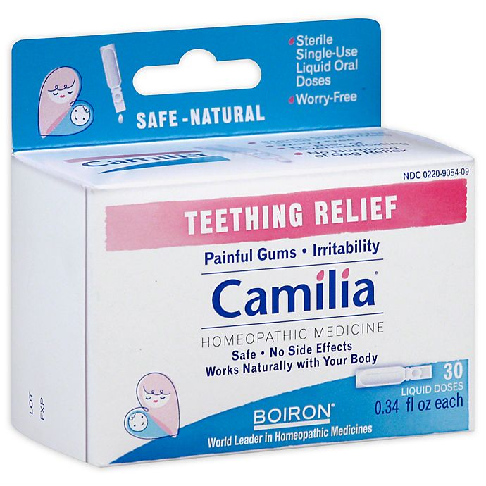 Alternate image 1 for Boiron® 30-Dose Camilia Teething Relief