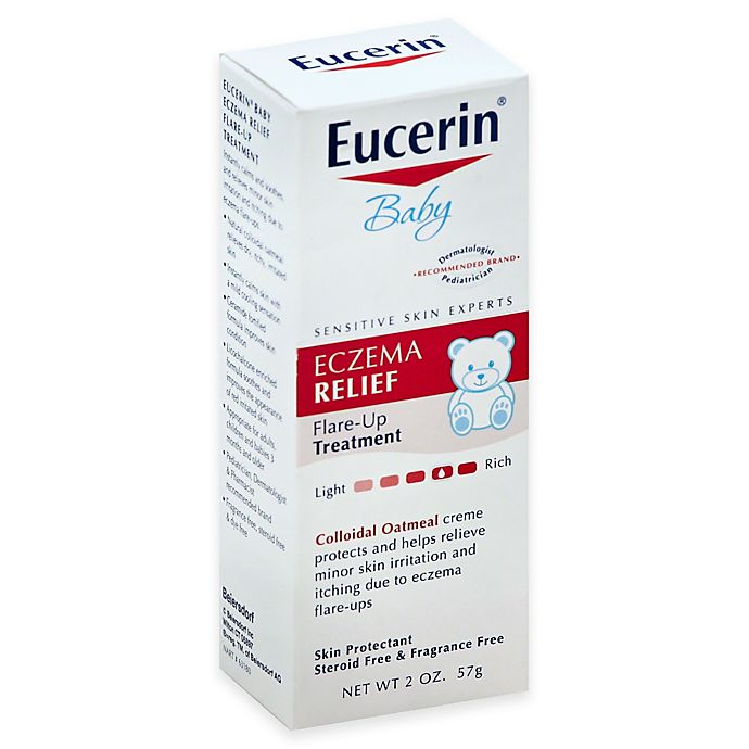 Alternate image 1 for Eucerin® 2 oz. Baby Eczema Relief Body Creme