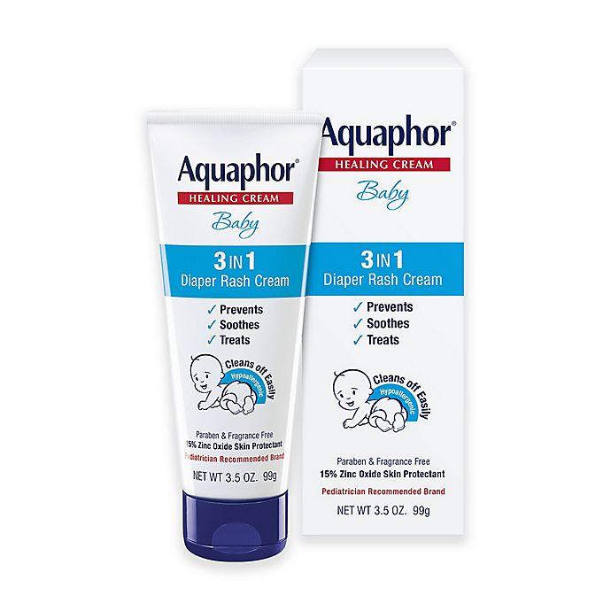 Alternate image 1 for Aquaphor® 3.5 oz. Baby Diaper Rash Cream