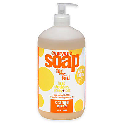 EO® Everyone™ For Kids 32 oz. 3-in-1 Orange Squeeze Botanical Soap