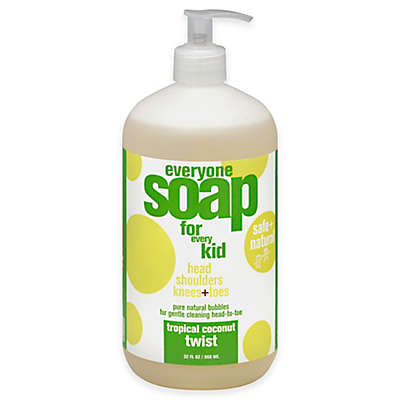 EO® Everyone™ For Kids 32 oz. 3-in-1 Tropical Coconut Twist Soap