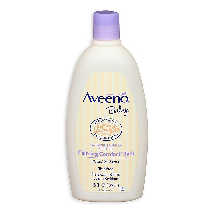 Alternate image 1 for Aveeno® Baby® 18 oz. Calming Comfort Bath
