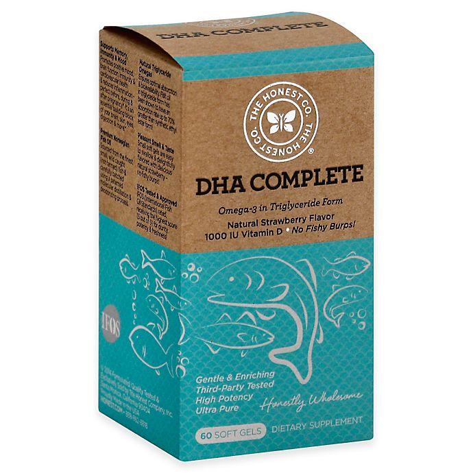 Alternate image 1 for Honest® 60-Count DHA Complete Soft Gels