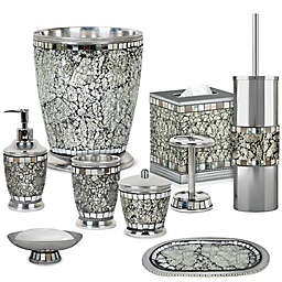 nu steel Iceberg Mosaic Bath Accessory Collection