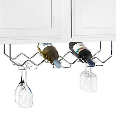 Under Cabinet Wine Glass Rack Bed Bath Beyond