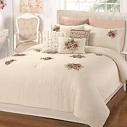 Chic Home Rossie 5-Piece King Comforter Set in Beige