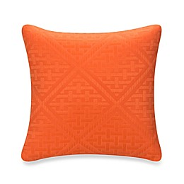 Glenna Jean Lilly & Flo Throw Pillow in Orange
