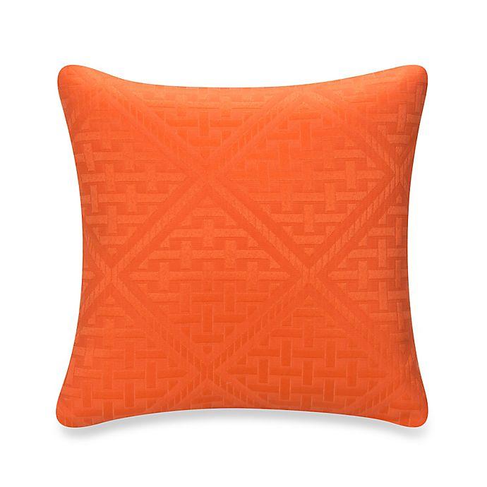 Alternate image 1 for Glenna Jean Lilly & Flo Throw Pillow in Orange