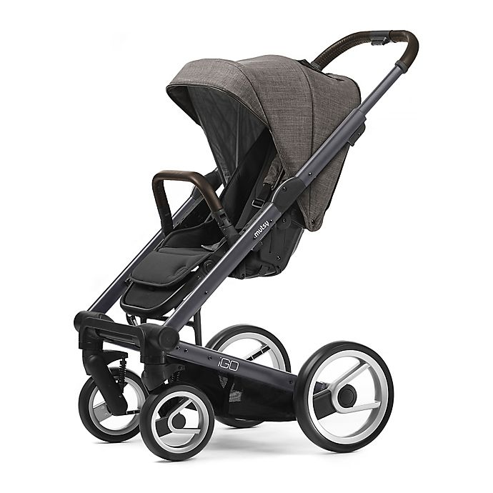 Alternate image 1 for Mutsy Igo Farmer Stroller in Dark Grey/Earth