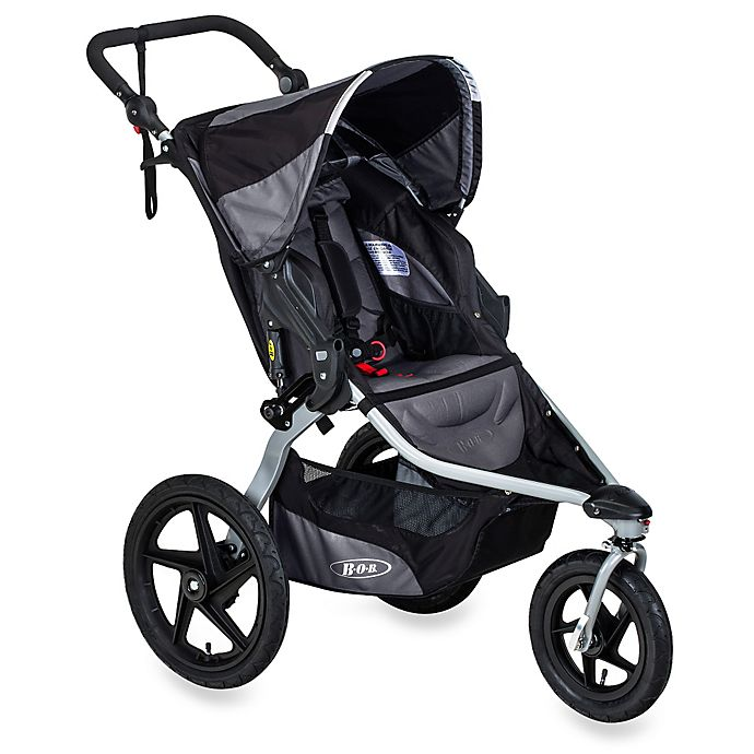 Alternate image 1 for BOB® Revolution® FLEX Jogging Stroller in Black