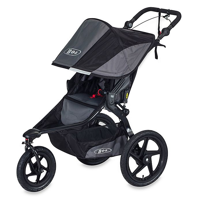 Alternate image 1 for BOB® Revolution® PRO Single Stroller in Black