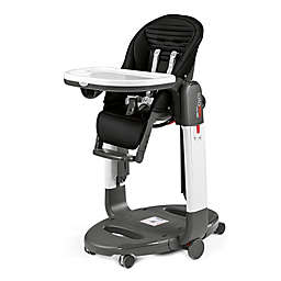 Peg Perego Tatamia High Chair in Black Stripes