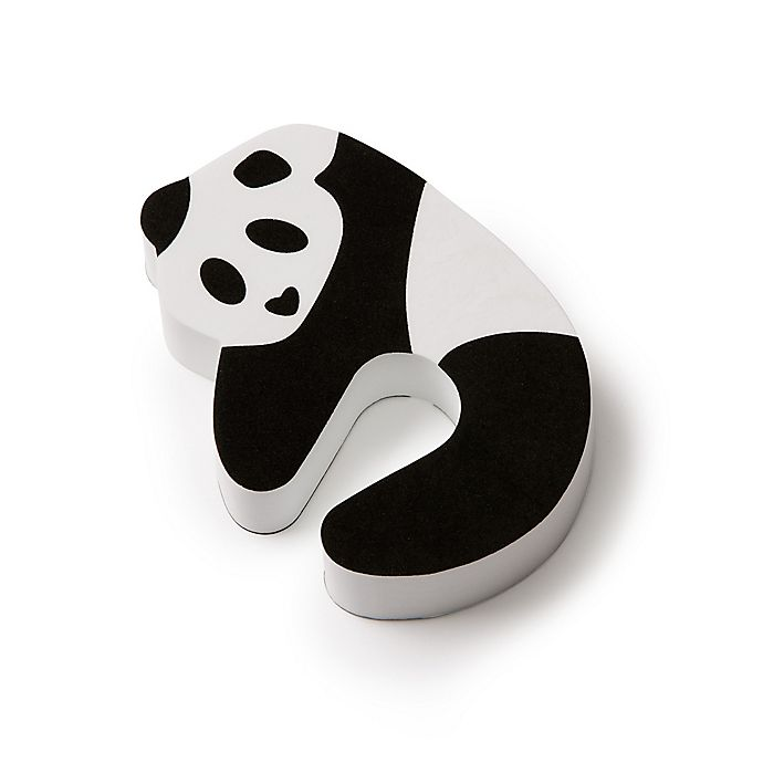 Alternate image 1 for Mommy's Helper® Panda Door Pinch Guard and Door Stops (Set of 2)