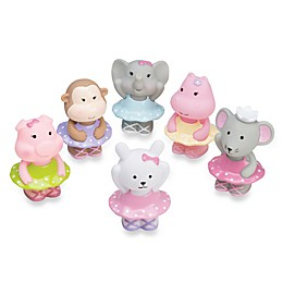Elegant Baby® Ballet Party 6-Piece Bath Squirties