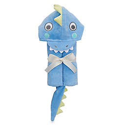 Elegant Baby® Serpent Bath Wrap Towel in Blue