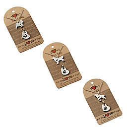 For the Love of Dogs Dog Necklace and Pet Charm Set Collection