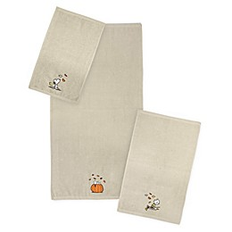 Peanuts™ Harvest Towel Collection in Tan