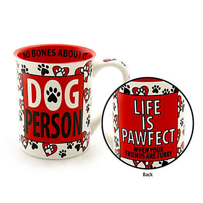 "Our Name is Mud® ""Dog Person"" Mug"