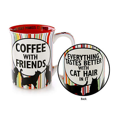 Our Name is Mud® Cat Friends Mug