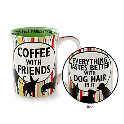 Our Name is Mud® Dog Friends Mug