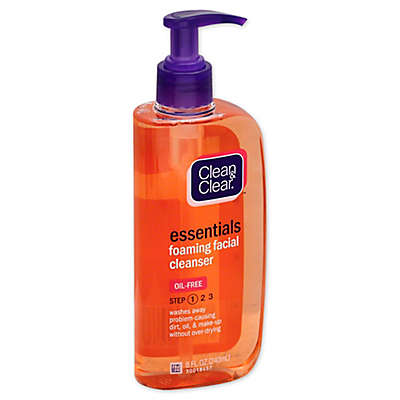 Johnson & Johnson® Clean and Clear® 8 fl. oz. Essentials Foaming Facial Cleanser