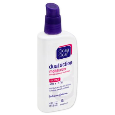 Clean And Clear® 4 Oz. Dual Action Oil Free Moisturizer Lotion by Bed Bath And Beyond
