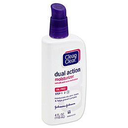 Clean and Clear® 4 oz. Dual Action Oil-Free Moisturizer Lotion