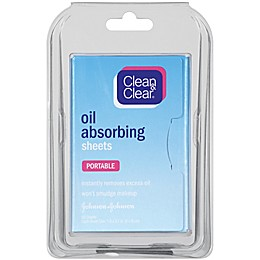 Johnson & Johnson® Clean and Clear® 50-Count Oil Absorbing Sheets