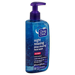 Clean and Clear® 8 oz. Night Relaxing Deep Cleaning Face Wash