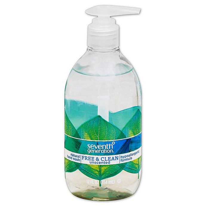 Alternate image 1 for Seventh Generation 12 oz. Free and Clean Hand Wash in Unscented