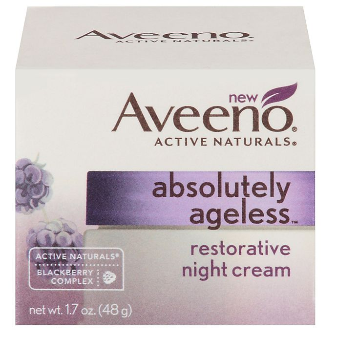 Alternate image 1 for Aveeno® Absolutely Ageless™ 1.7 oz. Restorative Night Cream