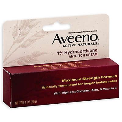 Aveeno® 1 oz. 1% Hydrocortisone Anti-Itch Cream Maximum Strength