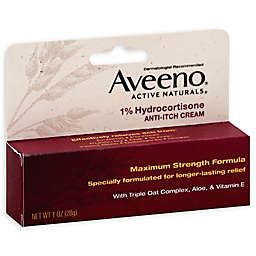 Aveeno® 1 oz. 1% Hydrocortisone Anti-Itch Cream Maximum Strength
