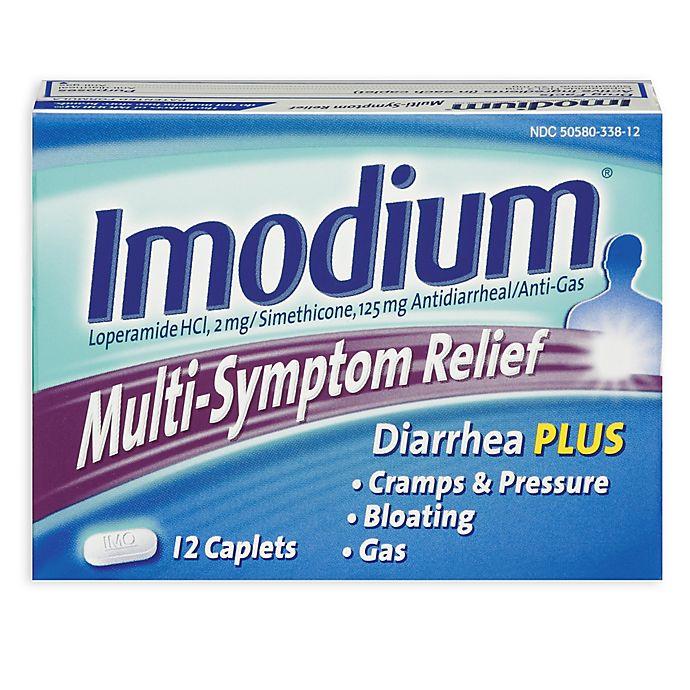 Alternate image 1 for Imodium® 12-Count Multi-Symptom Relief Caplets