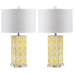 Safavieh Quatrefoil Acrylic Table Lamp Collection