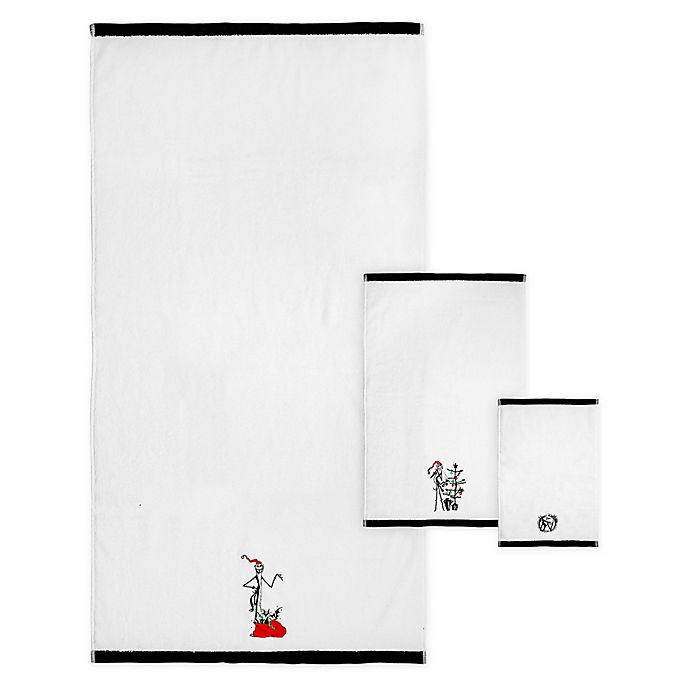 Alternate image 1 for Disney® The Nightmare Before Christmas Bath Towel Collection