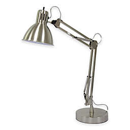 Equip Your Space Architect Desk Lamp with USB and Electrical Outlet