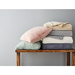 Wamsutta Faux Fur Throw Pillow and Blanket Collection