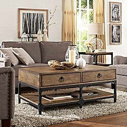 Crosley Trenton Coffee Table in Coffee