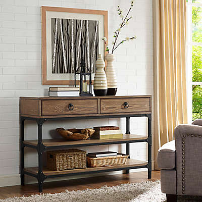Crosley Trenton Table Collection in Coffee
