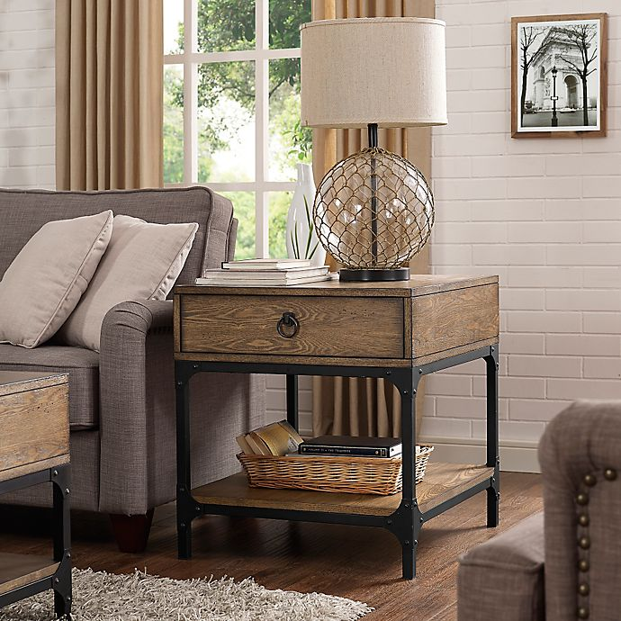 Alternate image 1 for Crosley Trenton Side Table in Coffee