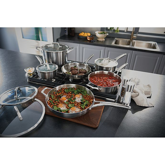 Alternate image 1 for Calphalon® Premier™ Stainless Steel Cookware Collection