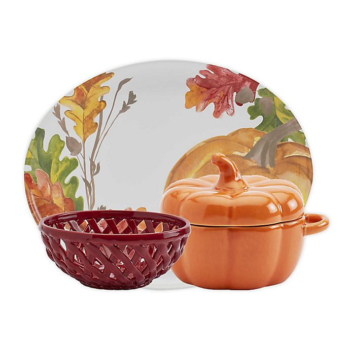 Alternate image 1 for Modern Farmhouse Harvest Serveware Collection