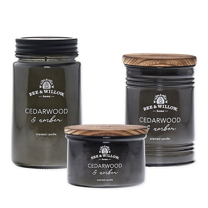 Alternate image 1 for Bee & Willow™ Home Cedarwood and Amber Candle Collection