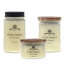 Bee & Willow™ Home Spiced Vanilla and Cream Candle Collection