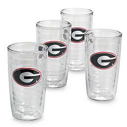 Tervis® University of Georgia Bulldogs16 oz. Tumblers (Set of 4)