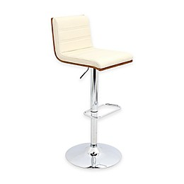 LumiSource Vasari Bar Stool in Walnut