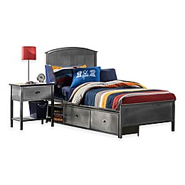 Hillsdale Urban Quarters Panel Storage Bed with Rails